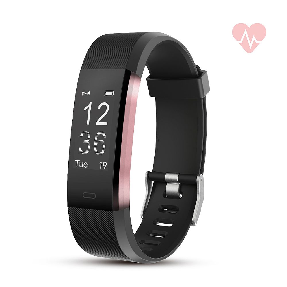 RevJams Moda + HR Bluetooth Fitness Activity Tracker with built-in Heart Rate Monitor-