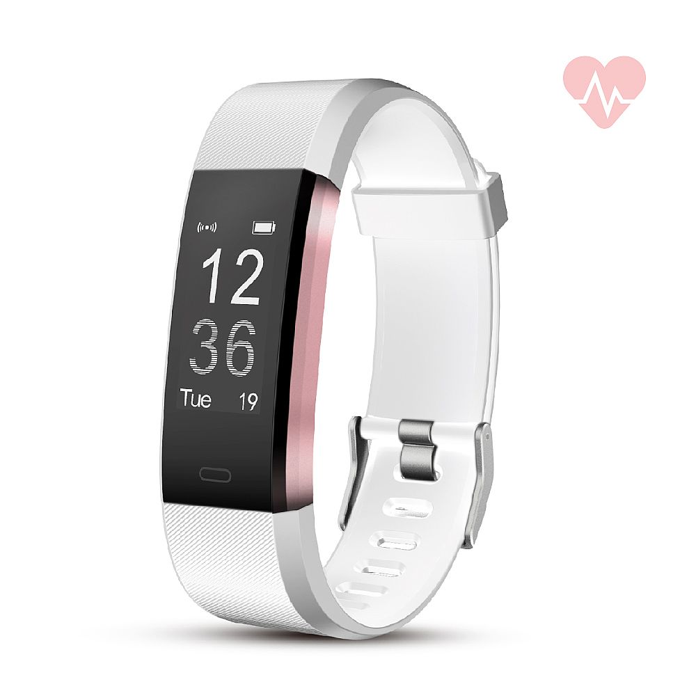 RevJams Moda + HR Bluetooth Fitness Activity Tracker with built-in Heart Rate Monitor
