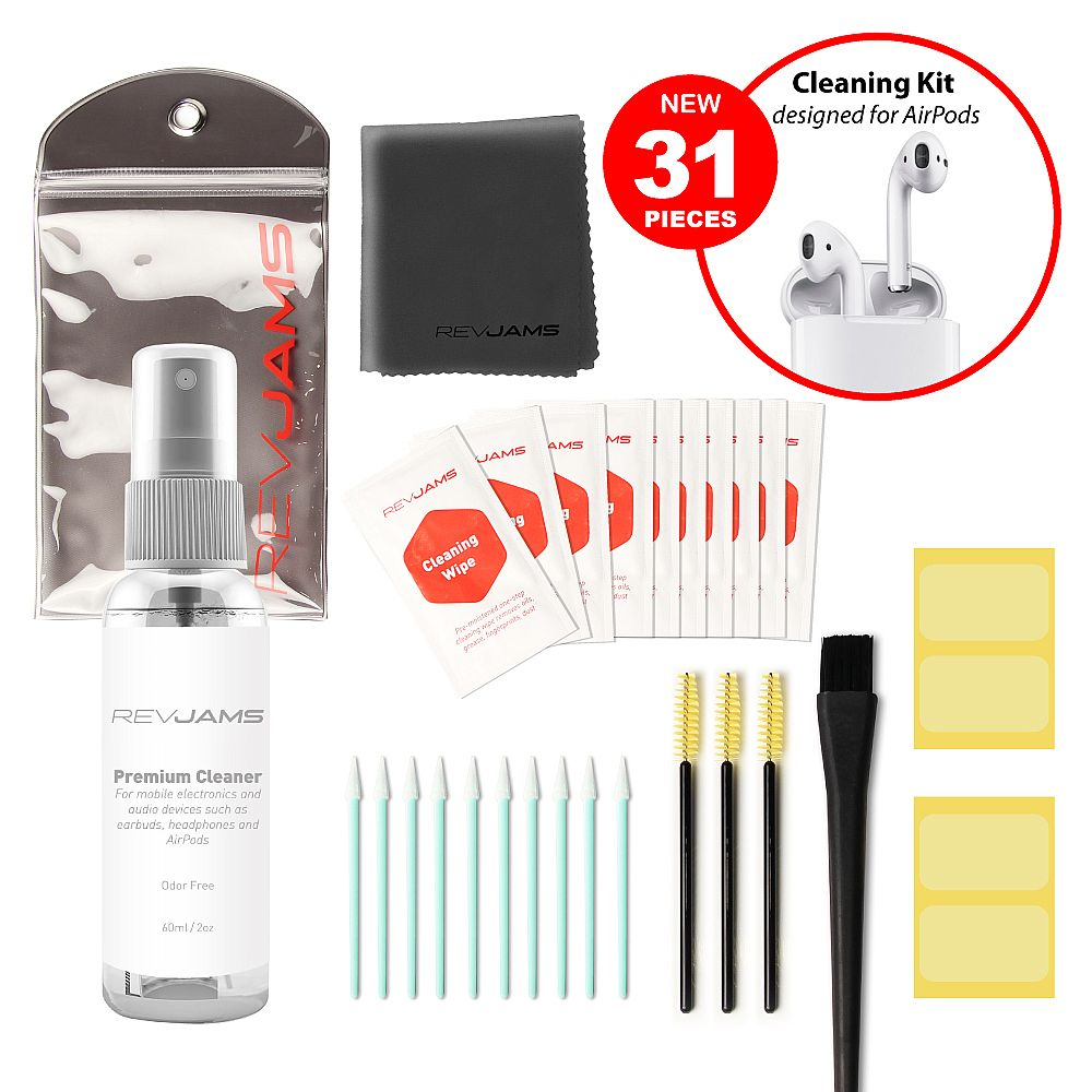 RevJams Complete 27pcs Cleaning Kit for Portable Audio Devices (Basic)