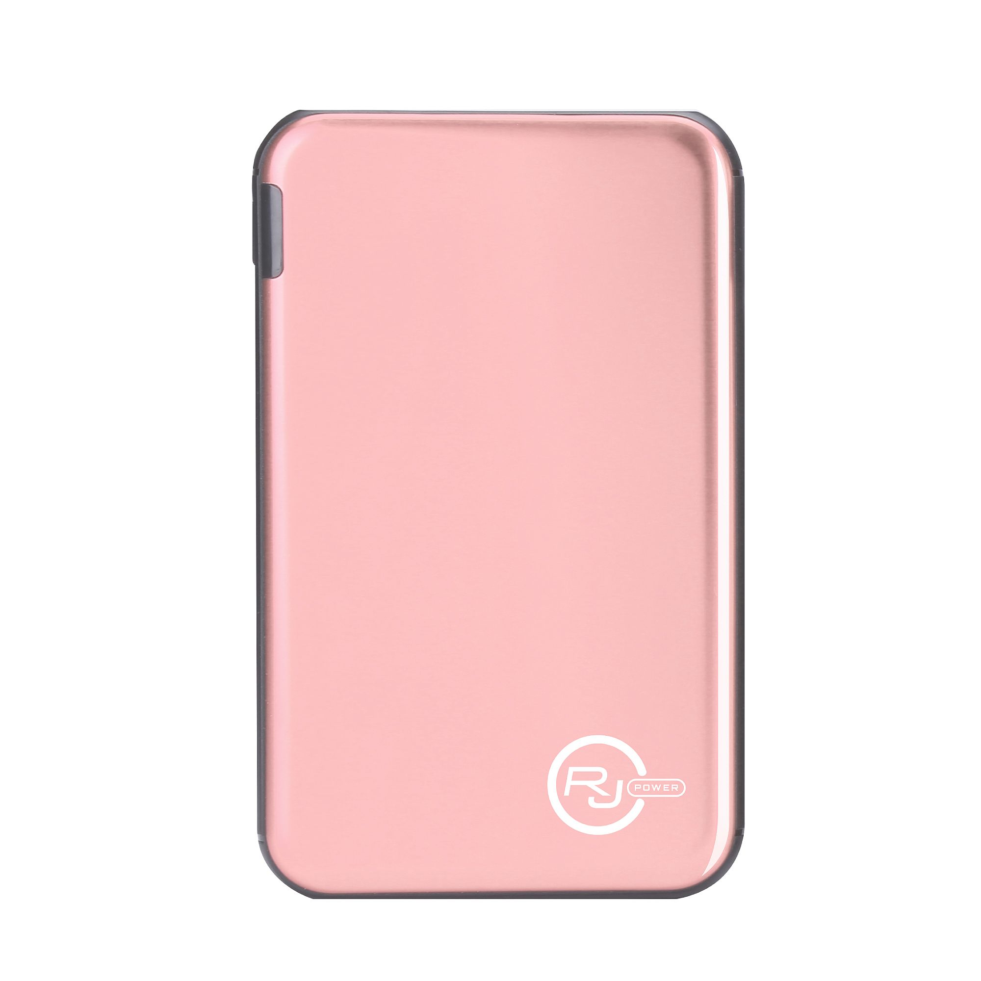 RJ Power 5,000mah Ultra Slim Metallic Portable Power Bank - Rose Gold